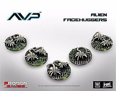 New Alien Vs Predator The Hunt Begins Facehuggers Expansion Board Game AVP UK