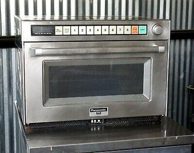 Panasonic Ne-3280 Commercial Microwave Oven Sonic Steamer