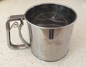 Stainless Steel Flour Shifter Kingsley Joondalup Area Preview