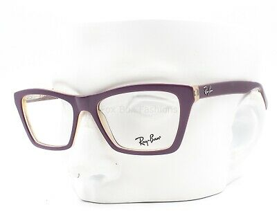 Ray-Ban RB 5316 5390 Eyeglasses Optical Frames Glasses Matte Purple (Ladies Glass Frames)