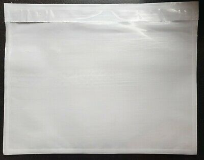 100 - Clear 7 X 5 12 Packing List Envelope Invoice Slip Self Seal Pouch