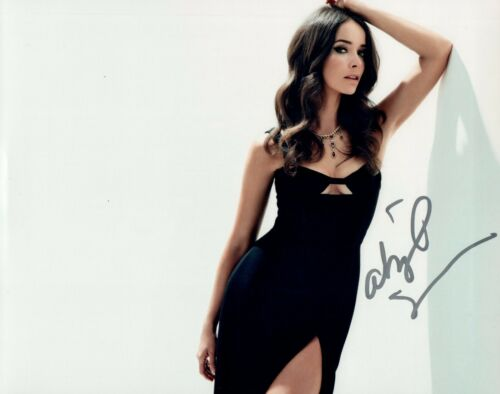 Abigail Spencer Signed Autographed 8x10 Photo Timeless Suits Actress COA