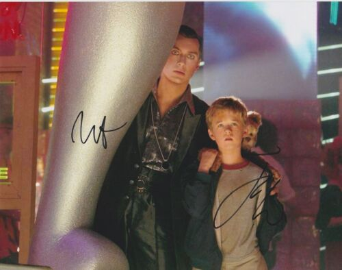 Jude Law/Haley Joel Osment Signed AI: Artificial Intelligence 10x8 Photo AFTAL