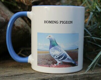 NEW BLUE RACING PIGEON  MUG IDEAL GIFT