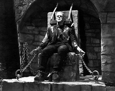 Boris Karloff Frankenstein Chains Halloween Poster Art Photo 11x14 16x20 20x24 ](Boris Karloff Halloween)