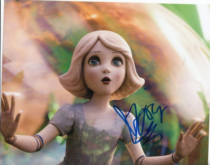 JOEY KING signed *Oz the Great and Powerful* 8X10 photo W/COA CHINA DOLL