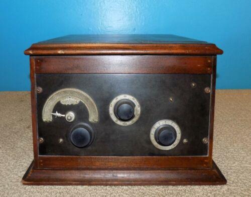 Crosley Model 51-SD 2 Tube Radio Receiver Very Good Condition Free Shipping