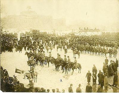 President William Taft's Personal Escort Troop A 1908 original press photo