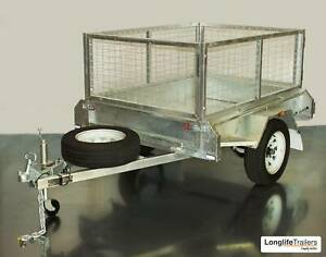 7x4 Trailer = $1125 cage = $220 advertised price = $1345