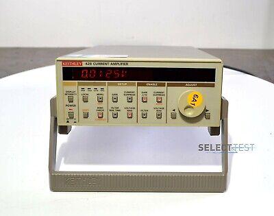 Keithley 428 Current Amplifier 8 Ranges 103 Va - 1010 Va Ref517