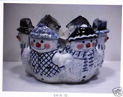 Керамика под покраску Ceramic Bisque Snowman