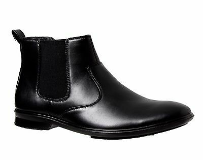 NEW Mens GROSBY - OTIS Black Dress/FORMAL/CASUAL/WORK/SHOES CHEAP BOOTS - Cheap Stylish Shoes