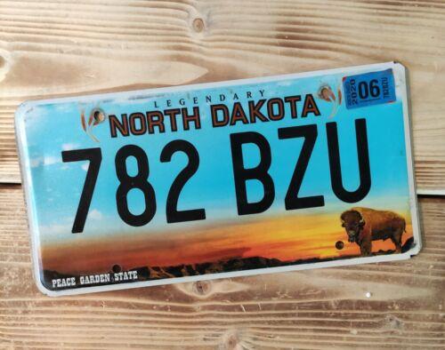 USA Nummernschild/Kennzeichen/license plate/US car/ Harley * North Dakota*