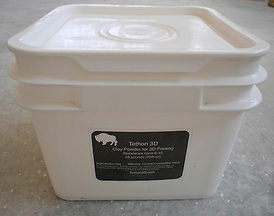 Tethonite Ceramic 3D Printer Powder and Binder Compatible with Z Corp Printers for sale  Omaha