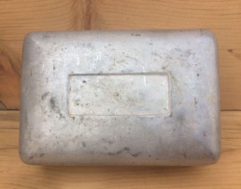 Vintage Metal Camping Soap Tin