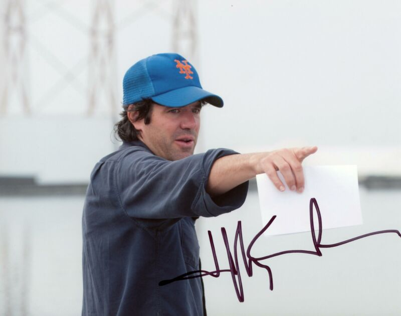 """JC Chandor """"All Is Lost"""" Director AUTOGRAPH Signed 8x10 Photo"""