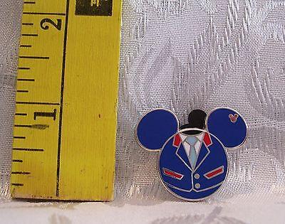 Walt Jr Costume (Walt Disney Mickey Mouse JR ICON EPCOT SOARIN COSTUME 2013 TRADING Hat)
