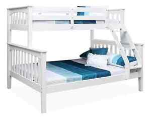 Timber Double-Single Bunk Bed Seaforth Manly Area Preview