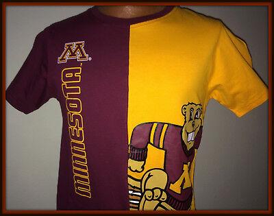 Minnesota Gophers Pro Edge Youth Xlarge Size 16 18 Goldy Tshirt Free Shipping