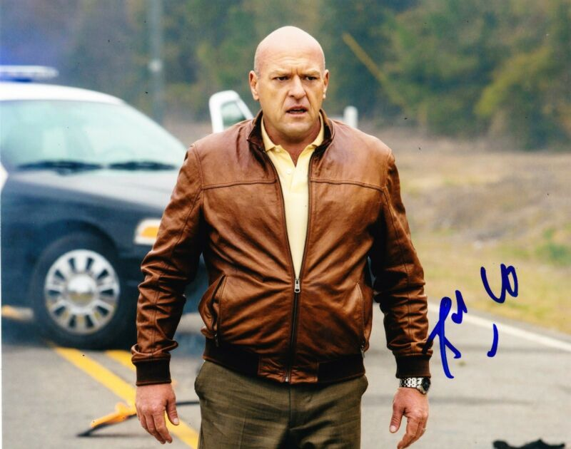 DEAN NORRIS SIGNED 8X10 PHOTO AUTHENTIC AUTOGRAPH BREAKING BAD HANK UNDER DOME D