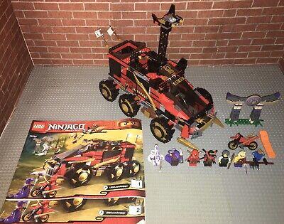 Lego 70750 Ninjago Ninja DB X Complete Set With Minifigures Manuals Truck