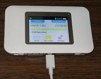 AT&T Netgear Unite 770S 4G LTE WiFi Hotspot Mobile Modem - NO BATTERY