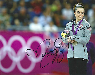 Mckayla Maroney Olympic Gymnastist 12 Olympic Gold Signed 8X10 Picture  Coa 6