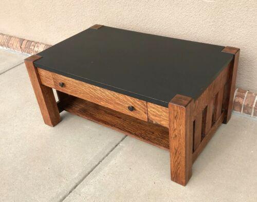 Antique Mission Oak Coffee Table