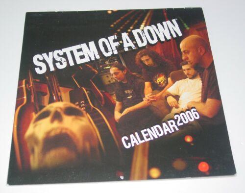 System of A Down 2006  Photo Calendar Studio Candid Progressive Heavy Nu Metal