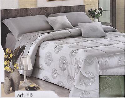 Seide Doppelbett (Steppdecke - Decke Hochzeits- G.Ferrari. Doppelbett Mix Farbe Seide)