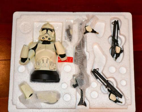 Star Wars Clonetrooper Bust Statue NIB Gentle Giant Darth Vader