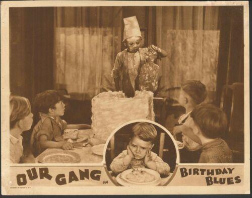 BIRTHDAY BLUES 1932 OUR GANG LOBBY CARD ORIGINAL VINTAGE LITTLE RASCALS SPANKY!