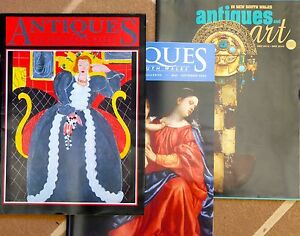 Antiques and Art in NSW, glossy Magazine 54 issues Castle Hill The Hills District Preview
