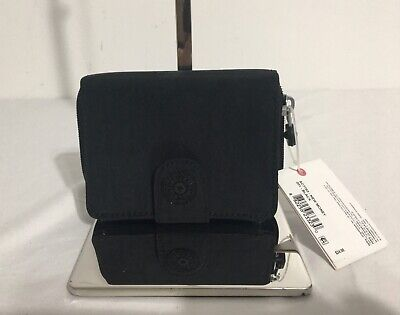 NWT KIPLING New Money Small Credit Card Wallet, Black