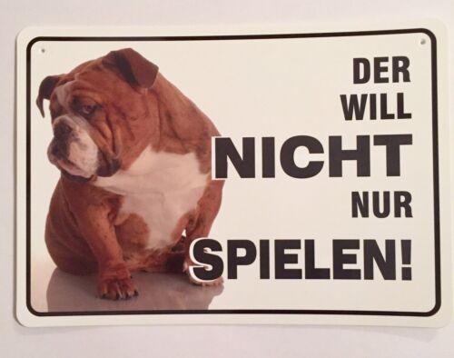 Wendana Warnschild f/ür Chihuahua-Wachhund Haustier 20,3 x 30,5 cm aus Aluminium
