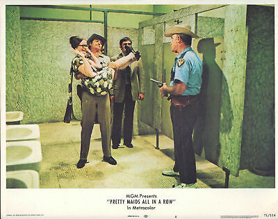 Pretty Maids All in a Row 1971 11x14 Lobby Card