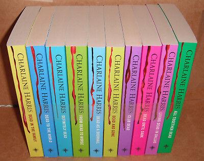 True Blood Charlaine Harris Sookie Stackhouse Series 10 Book Set NEW