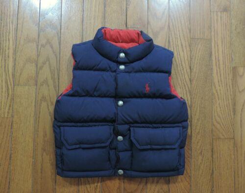 Ralph Lauren Polo Reversible Down Puffer Vest Boy