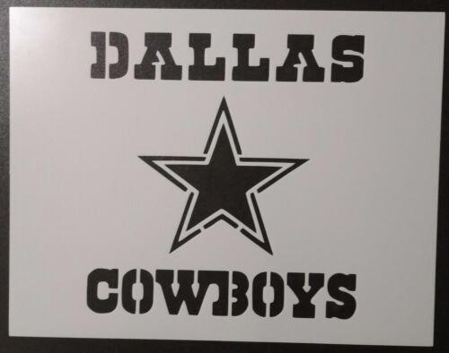 """Dallas Cowboys Star 11"""" x 8.5"""" Custom Stencil FAST FREE SHIPPING"""