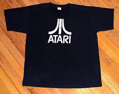 Rad Classic ATARI Videogame LOGO T-Shirt / XL Asteroids Space Invaders GAMER