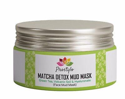 Green Tea Matcha Detox Mud Mask For Nourishing Hydrating Healing Anti Aging