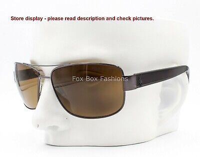 Ralph Lauren Polo PH 3087 9157/83 Aviator Sunglasses Polarized Please Read
