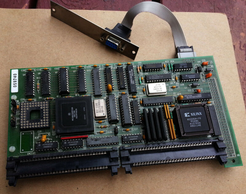 AE Applied Engineering TransWarp 030 68k NuBus CPU Upgrade Card -  Macintosh SE