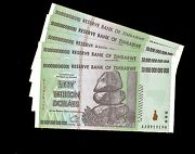 Zimbabwe 50 Trillion Bundle