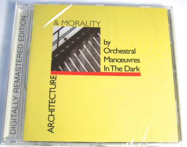 OMD - Architecture Morality CD + 7 Bonus Tracks NEW & SEALED REMASTERED