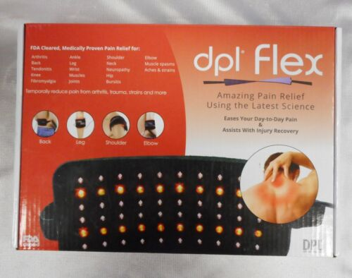 OPEN BOX  DPL Flex Pain Relief System LED Light Therapy Wrap Pad Arthritis Pain