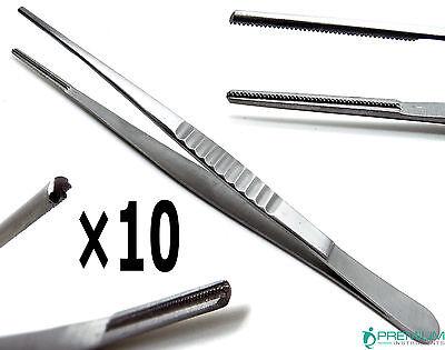 10 Debakey Tweezer 6 Froceps Atraumatic Dental Veterinary Surgical Instruments