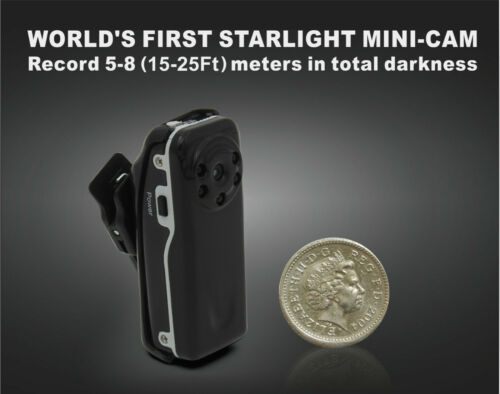 HD Police Body Camera Night Vision for Law Enforcement mini Body Worn Cam - USED