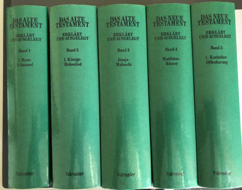 Walvoord Bibelkommentar in 5 Bänden