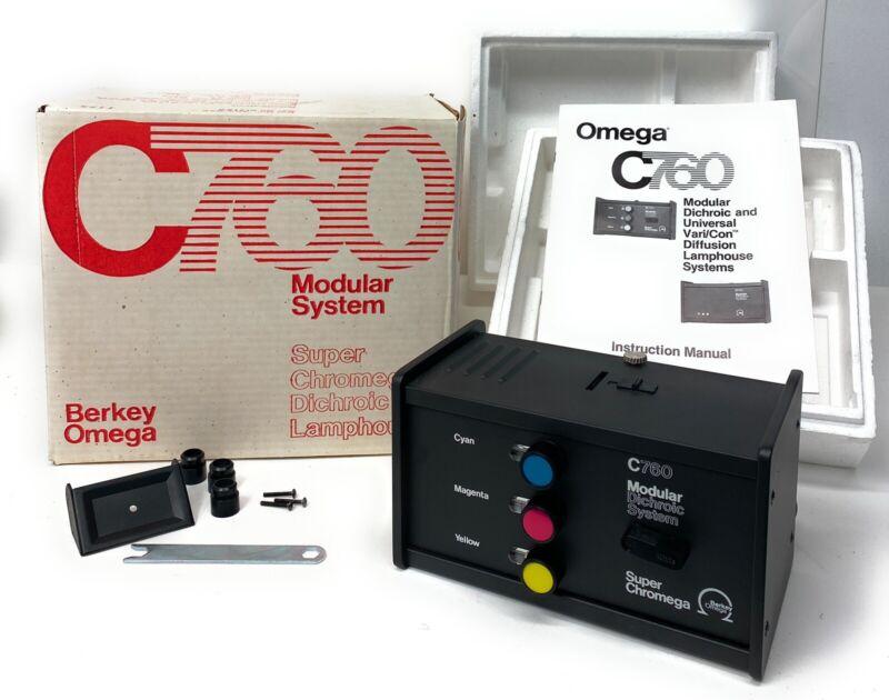 OMEGA C760 Modular System Super Chromega Dichroic Berkey + Extras + Manual